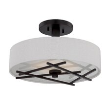 Stix 1 Light Semi Flush Mount