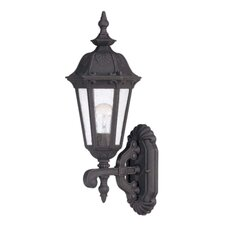 <strong>Nuvo Lighting</strong> Clarion 3 Light Arm Up Wall Lantern
