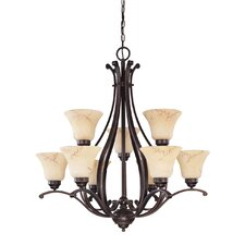 Anastasia 9 Light Chandelier