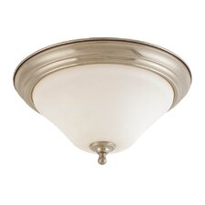 <strong>Nuvo Lighting</strong> Dupont 1 Light Flush Mount