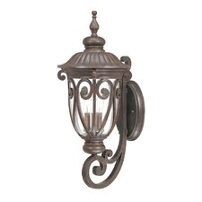 <strong>Nuvo Lighting</strong> Corniche 3 Light Wall Lantern