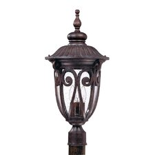 <strong>Nuvo Lighting</strong> Corniche 3 Light Post Lantern