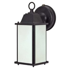 <strong>Nuvo Lighting</strong> 1 Light Wall Lantern