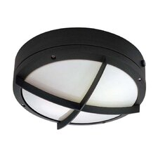 Hudson 2 Light Wall Sconce with Cross Grill