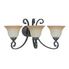 <strong>Nuvo Lighting</strong> Montgomery 3 Light Vanity Light
