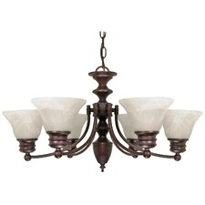 <strong>Nuvo Lighting</strong> Empire 6 Light Chandelier