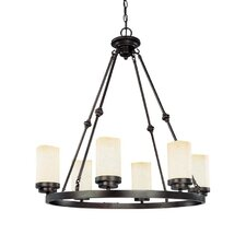 <strong>Nuvo Lighting</strong> Lucern 6 Light Chandelier