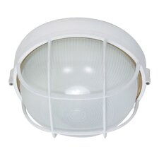 Round Cage 1 Light Wall Sconce