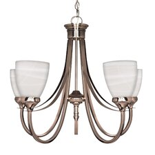 <strong>Nuvo Lighting</strong> Triumph 5 Light Chandelier