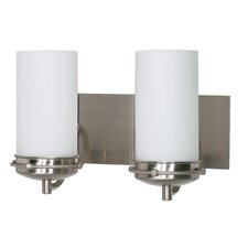 <strong>Nuvo Lighting</strong> Polaris 2 Light Vanity Light
