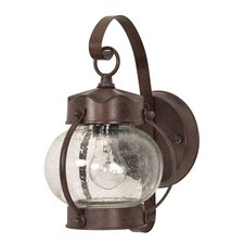 Onion 1 Light Wall Lantern