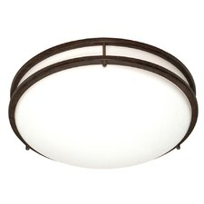 <strong>Nuvo Lighting</strong> Glamour Energy Star 3 Light Flush Mount