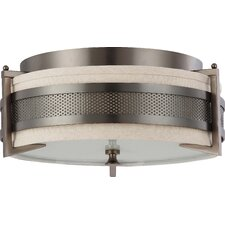 <strong>Nuvo Lighting</strong> Diesel Flush Mount - Energy Star