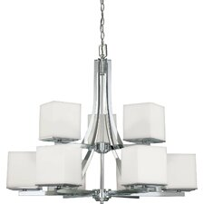 Bento 9 Light Chandelier
