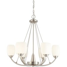 Helium 6 Light Chandelier