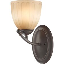 <strong>Nuvo Lighting</strong> Raindrop 1 Light Wall Sconce