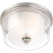 Decker 3 Light Flush Mount