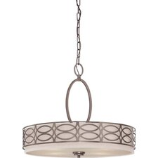 <strong>Nuvo Lighting</strong> Harlow 4 Light Pendant