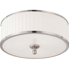 Candice 3 Light Flush Mount