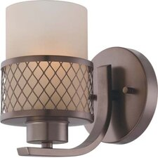 <strong>Nuvo Lighting</strong> Fusion 1 Light Bath Vanity Light
