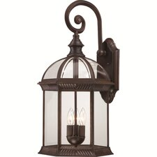 Boxwood 3 Light Outdoor Wall Lantern