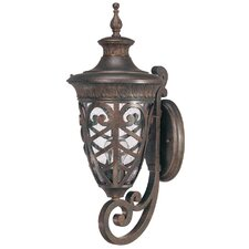Aston 1 Light Arm Up Wall Lantern