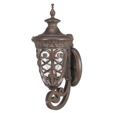 Aston 1 Light Small Arm Up Wall Lantern