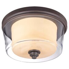 Decker 3 Light Flush Mount