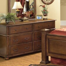 Kingsley Dresser in Chestnut