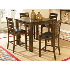 Franklin lll 5 Piece Counter Height Dining Set