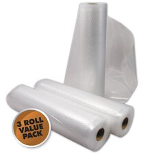 "8"" x 22' Vacuum Sealer Roll (Set of 3)"