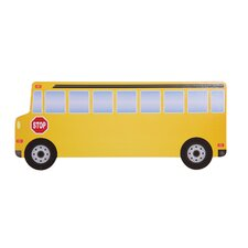 School Bus Wall Plaque