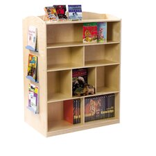 "Double-Sided 48"" Bookcase"