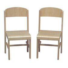 <strong>Guidecraft</strong> Woodscape Kid's Desk Chair (Set of 2)