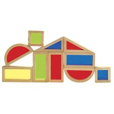 10 Piece Rainbow Block Set