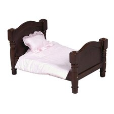 <strong>Guidecraft</strong> Doll Bed in Espresso