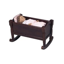 <strong>Guidecraft</strong> Doll Cradle in Espresso