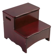 Classic 2-Step Storage Step Stool