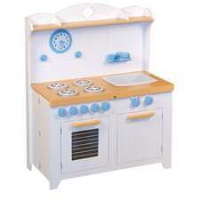 <strong>Guidecraft</strong> 6 Piece Hideaway Country Kitchen Set
