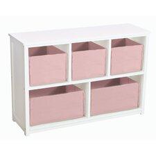 """Classic White 24"""" Bookcase"""