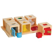Peekaboo Lock Boxes (Set of 6)