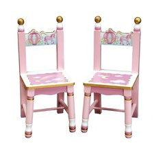 Princess Extra Kid's Chair (Set of 2)