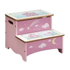 Princess 2-Step Storage Step Stool