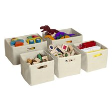 Toy Storage Bin (Set of 5)