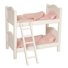 Doll Bunk Bed in White
