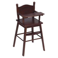 <strong>Guidecraft</strong> Doll High Chair in Espresso