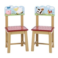 <strong>Guidecraft</strong> Farm Friends Chair (Set of 2)