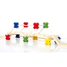 <strong>Guidecraft</strong> Construction Toys Texo 100 Piece Building Set