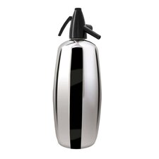 Professional 2 Quart Soda Siphon in Polished Stainless Steel