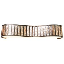Affinity Sustainable Shell 4 Light Bath Vanity Light
